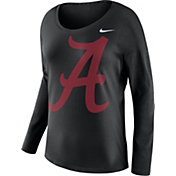 Nike Women's Alabama Crimson Tide Tailgate Black Long Sleeve Shirt