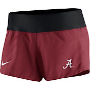 Nike Women's Alabama Crimson Tide Crimson Gear Up Crew Performance Shorts