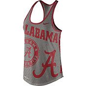 Nike Women's Alabama Crimson Tide Grey Dri-Blend Gear Up Racerback Tank