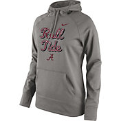 Nike Women's Alabama Crimson Tide Grey Performance Fleece Hoodie