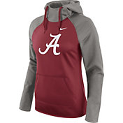Nike Women's Alabama Crimson Tide Grey/Crimson Tailgate All Time Performance Hoodie