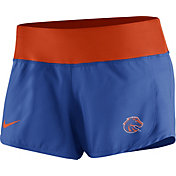 Nike Women's Boise State Broncos Blue Gear Up Crew Performance Shorts