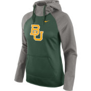 Nike Women's Baylor Bears Grey/Green Tailgate All Time Performance Hoodie