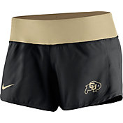 Nike Women's Colorado Buffaloes Black Gear Up Crew Performance Shorts