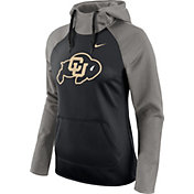 Nike Women's Colorado Buffaloes Grey/Black Tailgate All Time Performance Hoodie