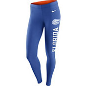 Nike Women's Florida Gators Blue Tailgate Leg-A-See Tights