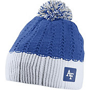 Nike Women's Air Force Falcons Blue/White Express Knit Beanie