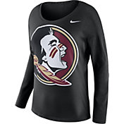 Nike Women's Florida State Seminoles Tailgate Black Long Sleeve Shirt
