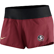 Nike Women's Florida State Seminoles Garnet Gear Up Crew Performance Shorts