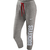 Nike Women's Ohio State Buckeyes Gray Gym Vintage Pants