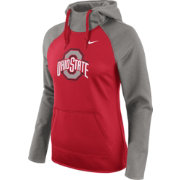 Nike Women's Ohio State Buckeyes Gray/Scarlet Tailgate All Time Performance Hoodie
