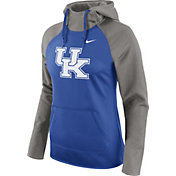 Nike Women's Kentucky Wildcats Grey/Blue Tailgate All Time Performance Hoodie