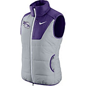 Nike Women's LSU Tigers Grey/Purple Champ Drive Vest