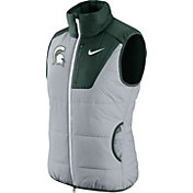 Nike Women's Michigan State Spartans Grey/Green Champ Drive Vest