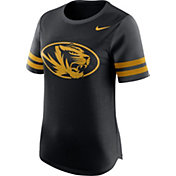 Nike Women's Missouri Tigers Black Gear Up Modern Fan T-Shirt