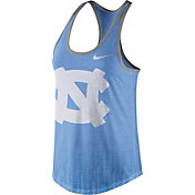 Nike Women's North Carolina Tar Heels Carolina Blue Dri-Blend Tank Top