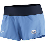 Nike Women's North Carolina Tar Heels Carolina Blue Gear Up Crew Performance Shorts