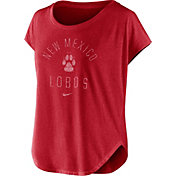Nike Women's New Mexico Lobos Cherry Gameday Signal Tri-Blend T-Shirt