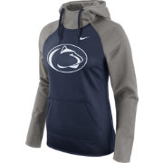 Nike Women's Penn State Nittany Lions Grey/Blue Tailgate All Time Performance Hoodie