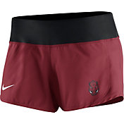 Nike Women's Arkansas Razorbacks Cardinal Gear Up Crew Performance Shorts