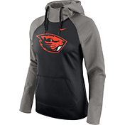 Nike Women's Oregon State Beavers Tailgate All Time Performance Grey/Black Hoodie