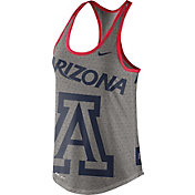 Nike Women's Arizona Wildcats Grey Dri-Blend Gear Up Racerback Tank