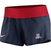 Nike Women's Arizona Wildcats Navy Gear Up Crew Performance Shorts