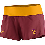 Nike Women's USC Trojans Cardinal Gear Up Crew Performance Shorts