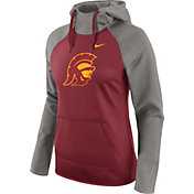 Nike Women's USC Trojans Grey/Cardinal Tailgate All Time Performance Hoodie