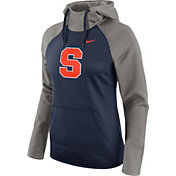Nike Women's Syracuse Orange Grey/Blue Tailgate All Time Performance Hoodie