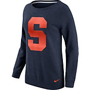 Nike Women's Syracuse Orange Blue Champ Drive Boyfriend Crew Sweatshirt