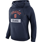 Nike Women's Syracuse Orange Blue Tailgate Funnel Hoodie