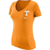 Nike Women's Tennessee Volunteers Tennessee Orange Flash Bomb Hook V-Neck T-Shirt