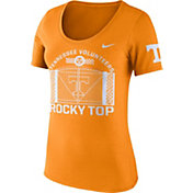 Nike Women's Tennessee Volunteers Tennessee Orange Enzyme Washed Campus Elements Scoop T-Shirt