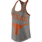 Nike Women's Texas Longhorns Grey Dri-Blend Gear Up Racerback Tank