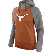 Nike Women's Texas Longhorns Grey/Burnt Orange Tailgate All Time Performance Hoodie