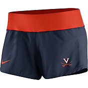 Nike Women's Virginia Cavaliers Blue Gear Up Crew Performance Shorts