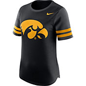 Nike Women's Iowa Hawkeyes Black Gear Up Modern Fan T-Shirt