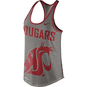Nike Women's Washington State Cougars Grey Dri-Blend Gear Up Racerback Tank