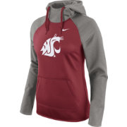 Nike Women's Washington State Cougars Grey/Crimson Tailgate All Time Performance Hoodie