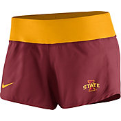 Nike Women's Iowa State Cyclones Cardinal Gear Up Crew Performance Shorts