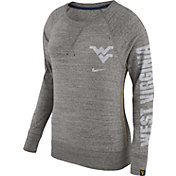 Nike Women's West Virginia Mountaineers Grey Vintage Crew Sweatshirt