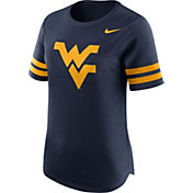 Nike Women's West Virginia Mountaineers Blue Gear Up Modern Fan T-Shirt