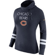 Nike Women's Chicago Bears Championship Drive Obsessed Navy Pullover