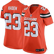 Nike Women's Alternate Game Jersey Cleveland Browns Joe Haden #23