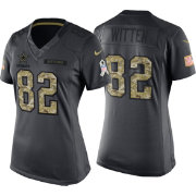 Nike Women's Home Limited Jersey Dallas Cowboys Jason Witten #82 Salute to Service 2016