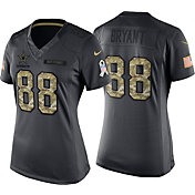 Nike Women's Home Limited Jersey Dallas Cowboys Dez Bryant #88 Salute to Service 2016
