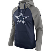 Nike Women's Dallas Cowboys Tailgate All-Time Grey Hoodie