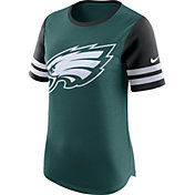 Nike Women's Philadelphia Eagles Modern Fan Green Short-Sleeve Top