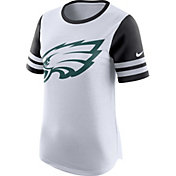 Nike Women's Philadelphia Eagles Modern Fan White Short-Sleeve Top